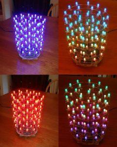 TLC5940 PWM RGB LED CYLINDER (2)