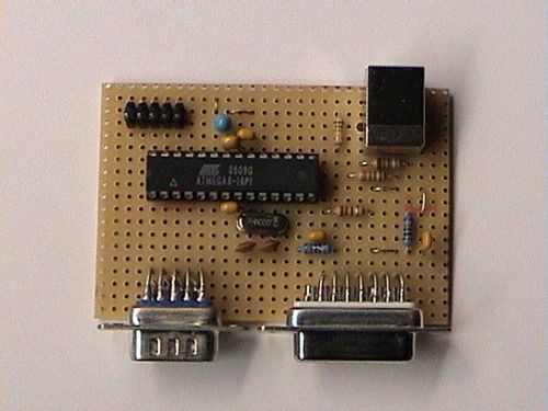 USB JOYSTICK CONVERTER CIRCUIT
