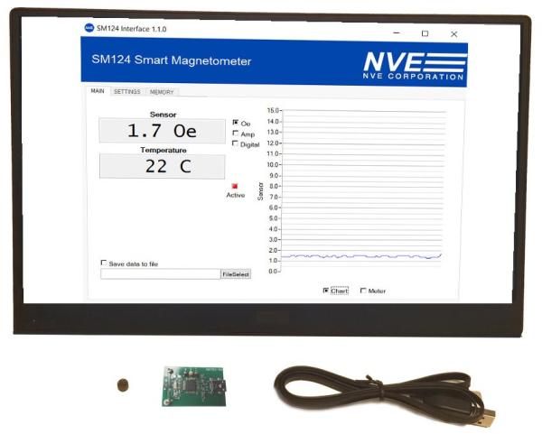 NVE INTRODUCES SMART GMR MAGNETOMETER
