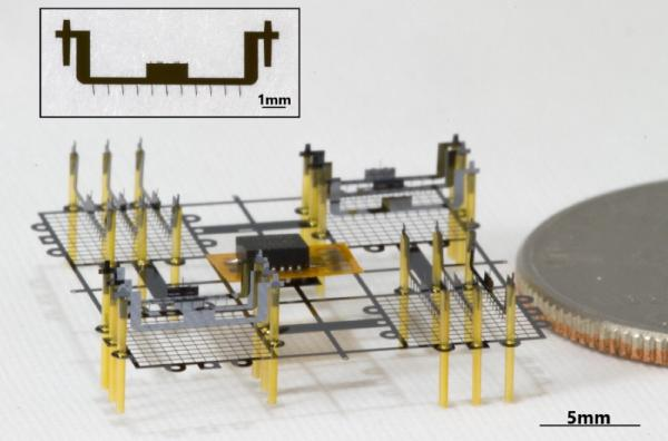 Berkeley's Tiny Flying Ionocraft Can hover using No Moving Parts