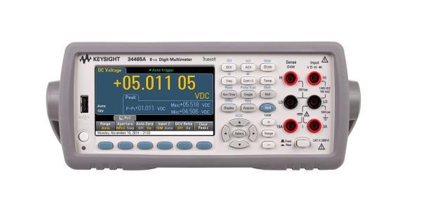 Keysight 34465A Digital Multimeter, 6 ½ Digit, Truevolt DMM
