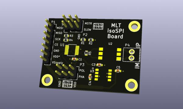 SPI ISOLATION BOARD