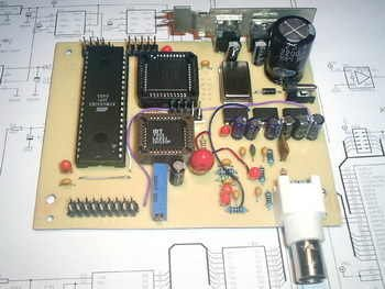 ATMEL AVR LCD OSCILLOSCOPE