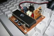 AT89S52 8051 RF DC MOTOR SPEED CONTROL