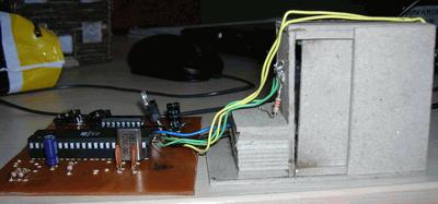 DC MOTOR WITH DOOR CONTROL CIRCUIT