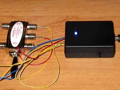 DISEQC TESTER CIRCUIT WITH ATMEL ATTINY13