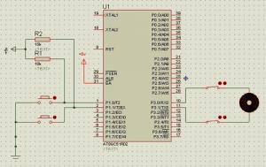 L293D DC MOTOR DOOR CONTROL SCHEMATIC PCB (1)