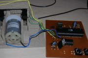 AT89C51 L293D DC MOTOR WITH DOOR CONTROL CIRCUIT