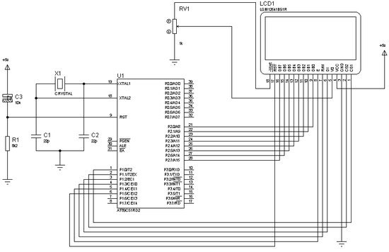 LCD ANIMATION SCHEMATIC