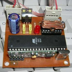 RF DC MOTOR SPEED CONTROL AT89S52