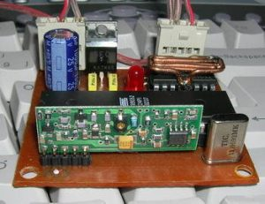 RF DC MOTOR SPEED CONTROL AT89S52(3)