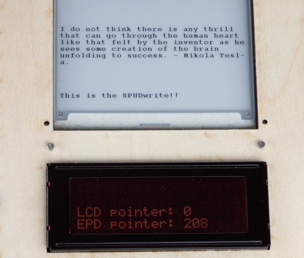 DIY E-Ink Typewriter 1