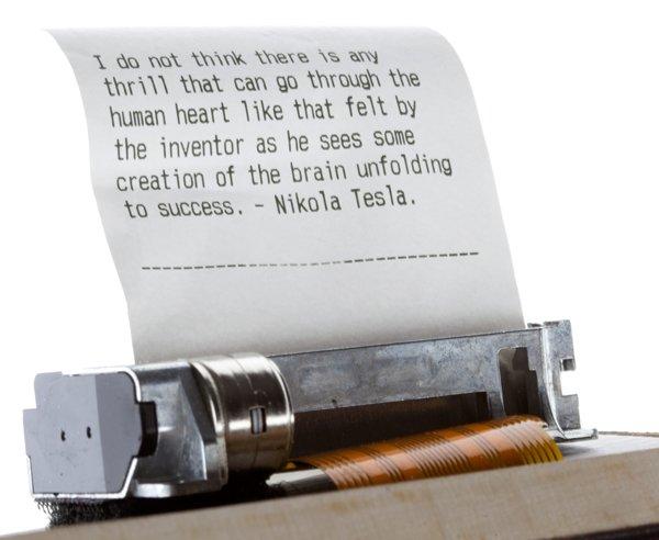 DIY E-Ink Typewriter 2
