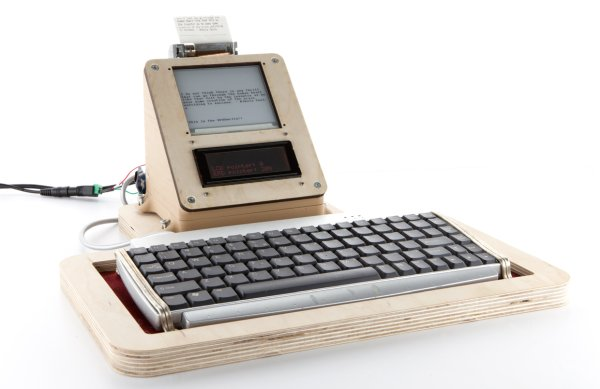 Write Without Distraction With This DIY E-Ink Typewriter