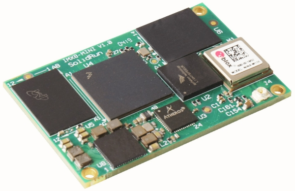 I.MX8M MINI BASED MODULE FEATURES GRYFALCON NEURAL ACCELERATOR