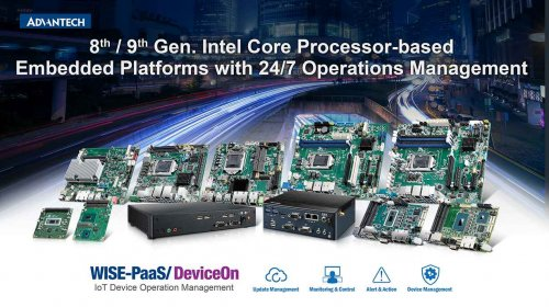 ADVANTECH LAUNCHES THE LATEST INTEL CORE PROCESSOR-BASED EMBEDDED PLATFORMS