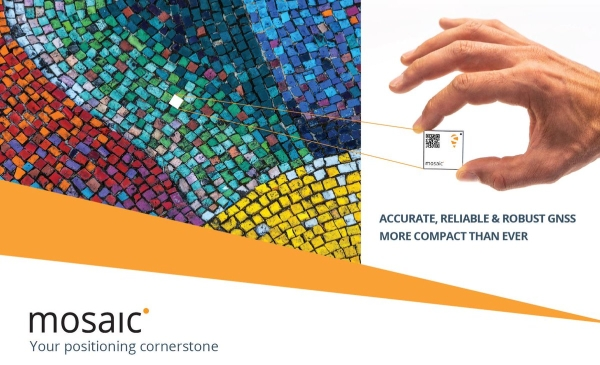 FIRST DEV-KITS AVAILABLE FOR MOSAIC, SEPTENTRIO'S NEW HIGH-PRECISION GNSS MODULE
