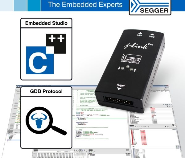 SEGGER EMBEDDED STUDIO ADDS SUPPORT FOR 3RD PARTY DEBUG PROBES VIA GDB PROTOCOL
