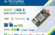 TORADEX ANNOUNCES ITS APALIS SOM BASED ON THE NXP I.MX 8QUADMAX APPLICATIONS PROCESSOR