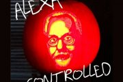 Alexa-controlled Adam Savage Pumpkin