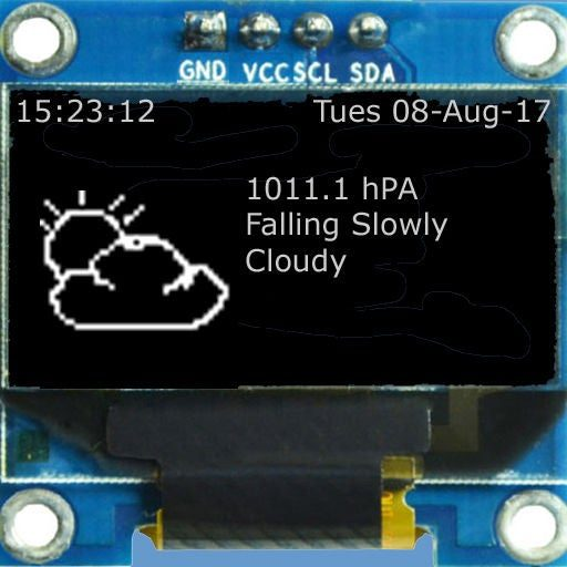 ESP32/ESP8266 Weather Forecaster/Predictor
