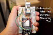 ESP32: Pocket Size Distance Measuring and Logger