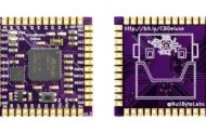 CIRCUITBRAINS DELUXE IS A TINY, CIRCUITPYTHON-COMPATIBLE MODULE