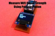 Measure Your WiFi Signal Strength Using Particle Photon