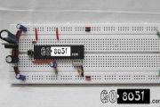 Programming P89V51RD2 (8051 Microcontroller) on Breadboard