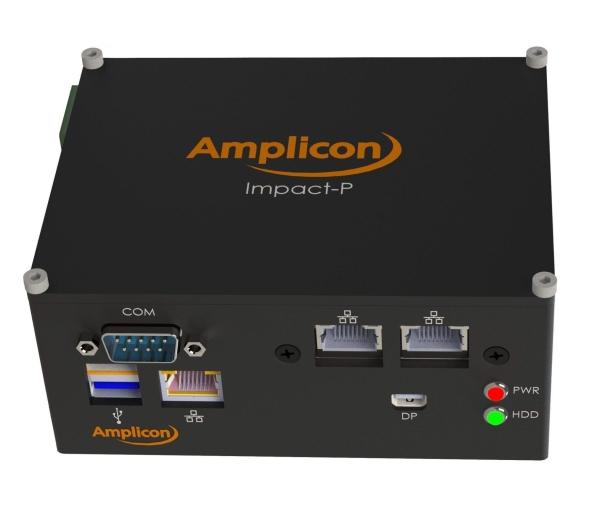 ULTRA-COMPACT NEW AMPLICON DINRAIL PC