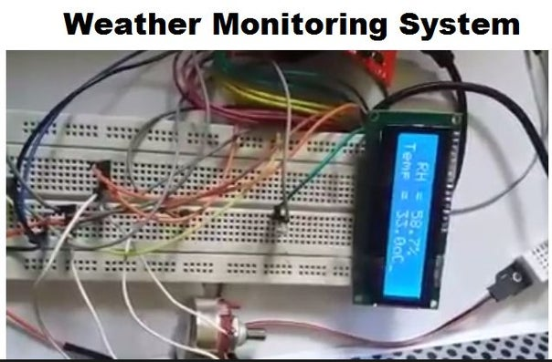 This time the project is named as Weather Monitoring System. This is another TIVA based project presented by students of UET LHR. Weather monitoring p