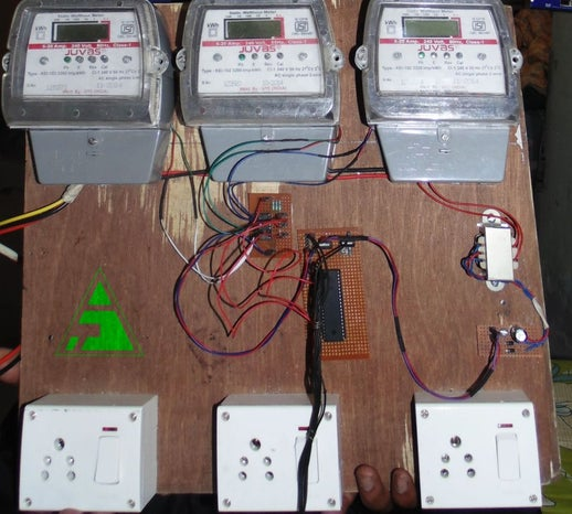 Wireless Energy Meter With Load Control