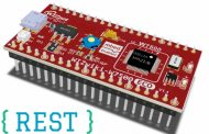 Adding REST-based Web Services to IoT Device for IO Monitoring