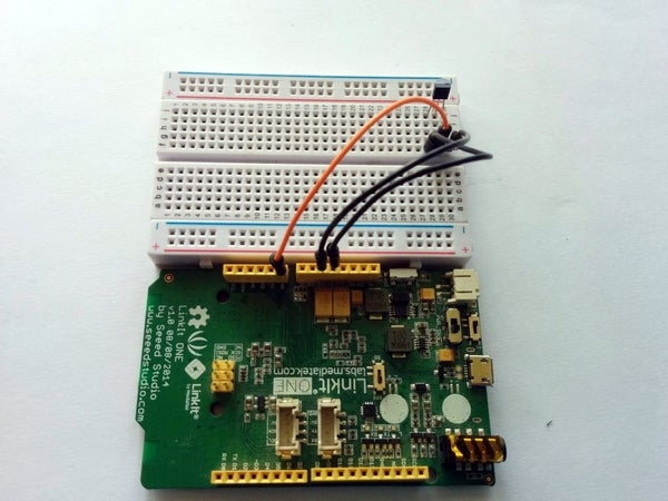 Linkit One Temperature Sensor