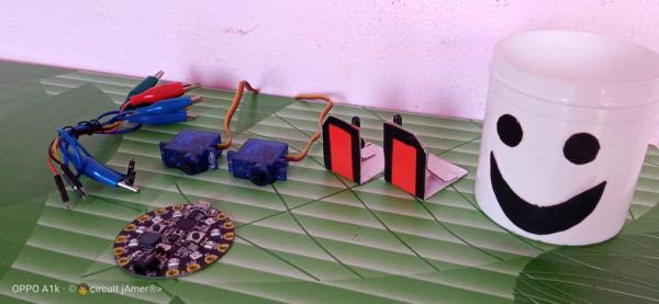 Make a Dancing Robot Without 3d Printer and Arduino/#smartcreativity