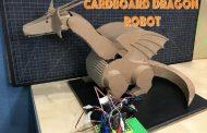 Cardboard Dragon Robot
