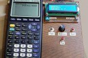 VFD Display for the TI83+ Calculator